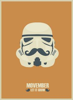 Movember Storm trooper