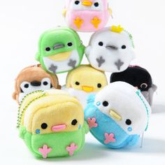 Cute Crafts, Felt Crafts, Fabric Crafts, Sewing Crafts, Diy And Crafts, Sewing Projects, Kawaii Plush, Cute Plush, Cute Stuffed Animals
