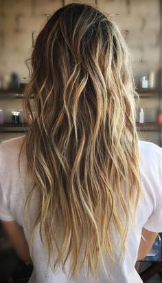 #Moresoo balayage tape in human hair extensions are loved by thousands of moresoo fans. Get your summer look easy and quick. No damage to your own hair. www.moresoo.com