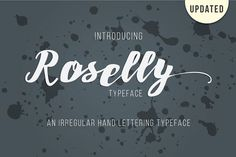 roselly Font from FontBundles.net