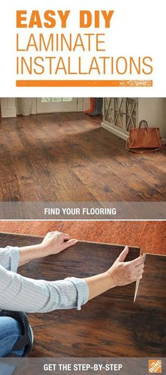 Do it yourself floating laminate floor installation flooring most diyers can install an entire room of laminate flooring in one day most laminate flooring comes in planks that simply snap together with a solutioingenieria Image collections