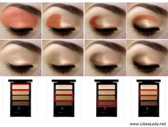 How to apply eye shadow: Browbone, eyelid, definer, crease.