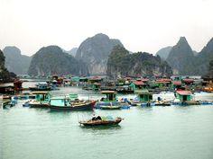 HaLong Fishing Villages