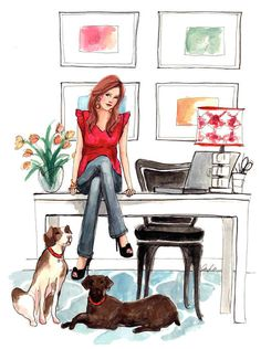 from the desk of… / The Sketch Book – Inslee Haynes