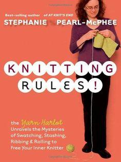 Stephanie Pearl-McPhee Books   Awesome Knitting Book Stephanie Pearl-McPhee is so funny!