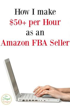 I make $50/hr selling with Amazon FBA. Even beginners can make money and become their own boss. It's a great way to work at home and earn extra cash or even a full time income. #makemoneyonline #sideincome #amazonfba #workfromhome Ways To Earn Money, Earn Money Online, Make Money Blogging, Online Jobs, Make Money From Home, Money Tips, Money Saving Tips, Way To Make Money, Money Fast