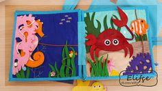 Мастерская Elifçe : Развивающая книжка №15 Морская.../Quiet book №15 Sea