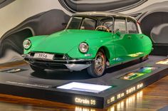 The original Citroen DS 19. Introduced in October 1955, this was a symbol for French ingenuity and morale in a time the country was still re-building after World War II.