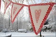 Hearty bunting