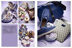 Paragon S/S 2011 Magazine - Fashion Accessories by Kevin Choy, via Behance