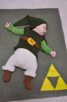 William from Nintendorks baby Link cosplay!