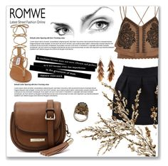 """""""Brown"""" by azra10 ❤ liked on Polyvore featuring River Island, Steve Madden, Cooper St, Alexander McQueen and Ashley Pittman"""