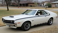1970 AMX in Frost White