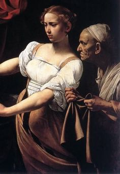 caravaggio. I love their expressions. Caravaggio and Rembrandt are my favorite painters ever