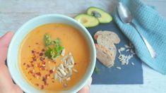 Kødfridag... nem og børnevenlig suppe med linser og søde kartofler....