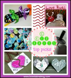 6 Kid Crafts - what a variety!