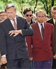 Анатолий Собчак беседует с народом. 1991.