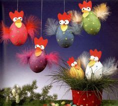 Ukazka z knihy Tvorime z papiru Napady pro deti na cely rok! [CZ] Pointer from the book Making from Easter Art, Easter Bunny, Easter Eggs, Easter Chick, Egg Crafts, Easter Crafts, Diy And Crafts, Diy For Kids, Crafts For Kids
