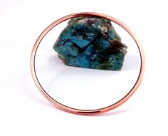 Stacking Copper Bangle Stacking Copper Bracelet Round by dlcgems