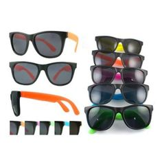 Amazon.com : NEON 80's style PARTY SUNGLASSES with dark lens (12 pack) : Toys & Games
