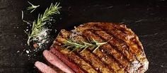 Grilled Balsamic-and-Garlic Flank Steak