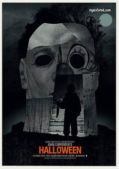 Alternative Posters for the 10 Scariest Movies of All Time -- Halloween by Methane Studios