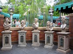 Haunted Mansion Queue. The queue is awesome! Haunted Mansion...my favorite ride at Magic Kingdom.