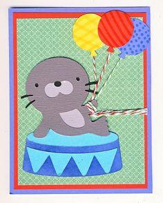 Seal and Balloons . cricut