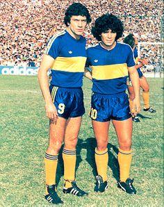 Brindisi & Maradona, Boca Juniors 1981