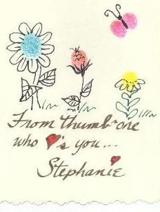 Design Thumbprint Art to delight your family & friends.FREE Designs for you to Copy.