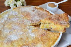 Receita de Torta de banana com doce de leite passo-a-passo. Acesse e confira todos os ingredientes e como preparar essa deliciosa receita!