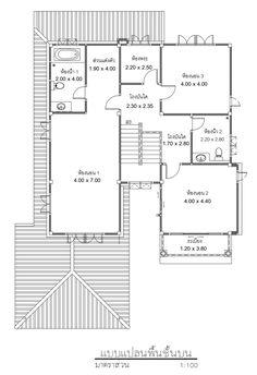 สมาคมธุรกิจรับสร้างบ้าน (Home Builder Association) - แบบบ้านสวย Floor Layout, Floor Plans, Diagram, Flooring, Design, Wood Flooring, Floor Plan Drawing, Floor