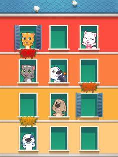 Talking Tom - Talking Tom And Friends Talking Cat Video, Talking Tom Cat 2, Virtual Pet, Going For Gold, Kitty Games, My Tom, 100 Words, Mini Games, Cat Love