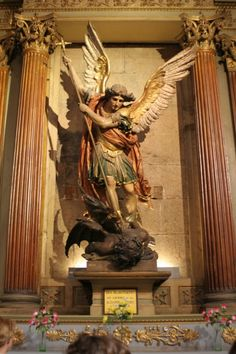 Archangel Tattoo, Kunst Online, Archangel Michael, Vs Angels, Classical Art, Celestial, St Michael, Roman Catholic, Occult