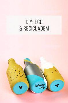 Tutorial de faça-você-mesma com reciclagem e reutilização de objetos que a gente…