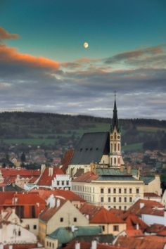 Cesky Krumlov - the town I live in