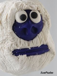 Abominable Snowman  Christmas Ornament  Christmas by SuePsales, $12.00