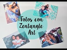 En este video te enseño a decorar tus fotos con zentangle art y mandalas.
