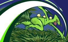 Sceptile | Leaf Blade by ishmam.deviantart.com on @deviantART