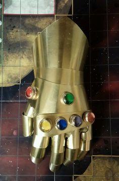 XL Cosplay Infinity Gauntlet by WoodenHokie4 on Etsy