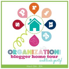 Get a glimpse inside the homes of the most organized bloggers on the web!  Can't wait!