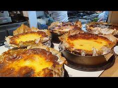 Tarta de queso LA VIÑA de San Sebastian - YouTube Food Cakes, Cheesecakes, Cake Recipes, Sweet Tooth, Deserts, Muffin, Good Food, Cooking Recipes, Favorite Recipes