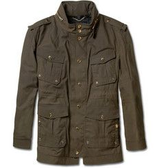 Burberry Prorsum Waxed-Cotton Field Jacket | MR PORTER<> YUP! thys too. LOL!