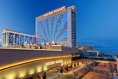 Find discopunts and hotel deals at the Golden Nugget Casino in Atlantic City. This is the only AAA Four Diamond rated hotel in town, be the first to check it out! Atlantic City Hotels, Atlantic City Casino, Casino Hotel, Casino Royale, Wynn Las Vegas, Vegas Casino, Cities, Site Wordpress, Restaurants