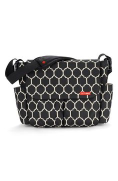 Skip Hop 'Dash' Messenger Style Diaper Bag