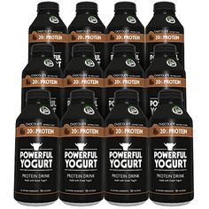 Powerful Yogurt Protein Drink, Greek Yogurt Chocolate, Pack of 12 *** You can get additional details at the image link.