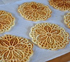 Pizzelles, best cookie ever. Italian tradition of ours.