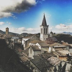 Spoleto Roofscape with the Duomo