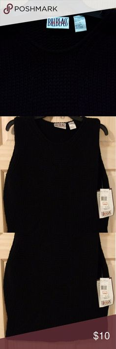 NWT Bill Blass Sweater Top NWT soft cable knit sweater for that extra layer of warmth over your blouse this winter. Bill Blass Sweaters V-Necks