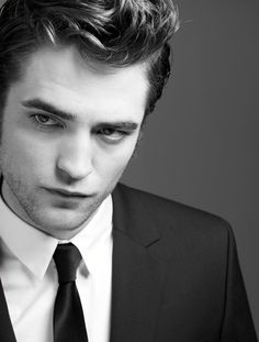 Robert Pattinson. I find him sexier when he is nice and pale!